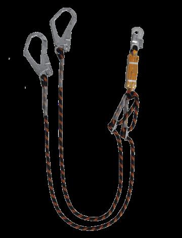 Строп двойной с регулятором длины с амортизатором HS-A22