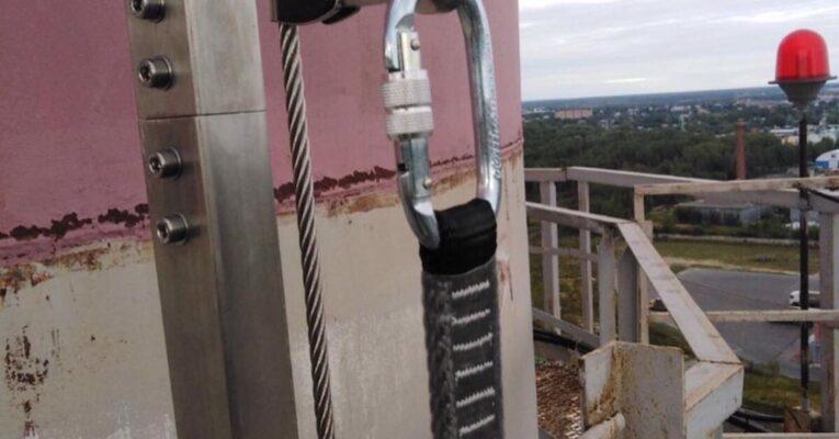 Монтаж вертикальных анкерных линий Vertikal, 7 шт по 10 метров
