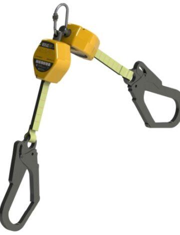 Двухплечевое средство защиты втягивающего типа (блокирующее устройство) BEKAS HS-BKS02-2S